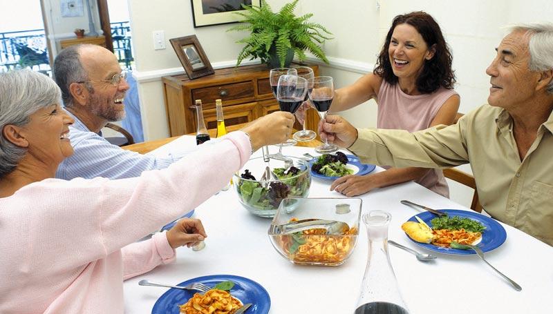 Repas et vie sociale