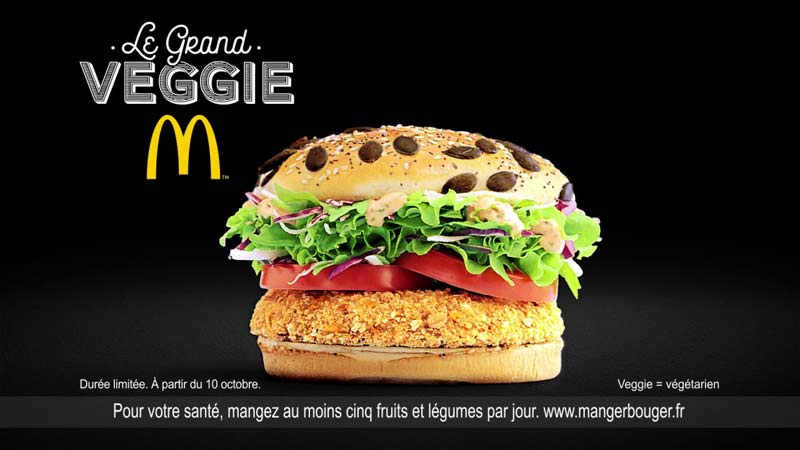 McDonald's grand veggie