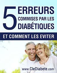 5 erreurs commises par les diabétiques