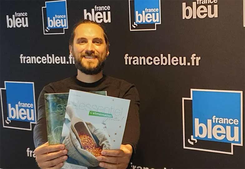 Emission à France Bleu